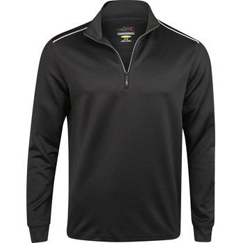 Greg Norman Weatherknit 1/4 Zip Mock Outerwear Pullover Apparel