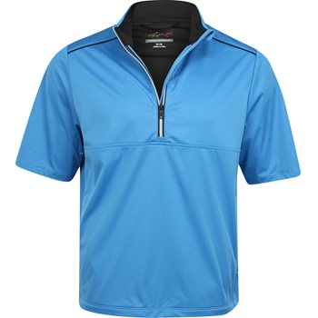 Greg Norman WeatherKnit 1/4 Zip S/S Rainwear Rain Shirt Apparel