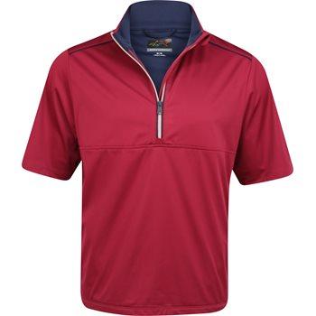 Greg Norman WeatherKnit 1/4 Zip S/S Rainwear Rain Shirt Apparel