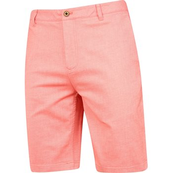Ashworth 2 Tone Cotton Blend Twill Shorts Flat Front Apparel