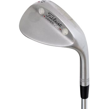 Titleist Vokey TVD-M California Chrome Custom White Paint Wedge Preowned Golf Club