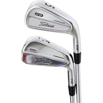 Titleist CB/MB 710 Forged Combo Iron Set Preowned Golf Club