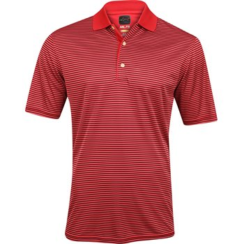 Greg Norman ML75 Micro Lux Fine Stripe Shirt Polo Short Sleeve Apparel