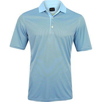 Greg Norman ML75 Micro Lux Fine Stripe Shirt Polo Short Sleeve Apparel