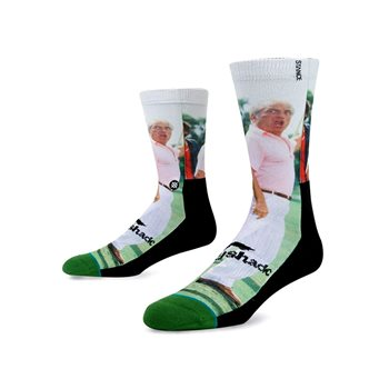 Stance Caddy Shack Ted Knight Socks Crew Apparel