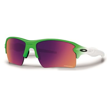 Oakley Limited Edition Green Fade Flak 2.0 XL Sunglasses Accessories