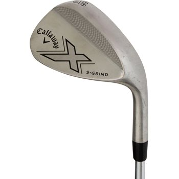 Callaway X-Series Brushed Chrome Wedge Preowned Golf Club