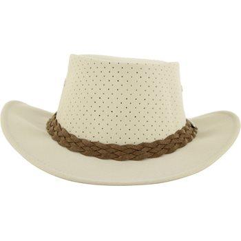 Aussie Chiller Bushie Perforated Headwear Straw Hat Apparel