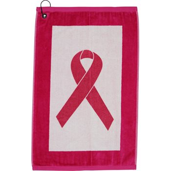 Devant Pink Ribbon Edge Towel Accessories