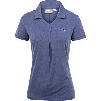 Puma Pleat Shirt Polo Short Sleeve Apparel