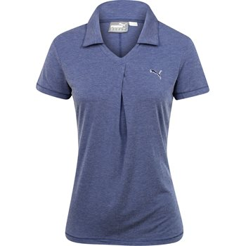 Puma Pleat Shirt Polo Short Sleeve Apparel