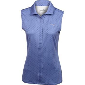 Puma Dot Sleeveless Shirt Polo Short Sleeve Apparel
