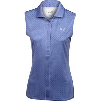 Puma Dot Sleeveless Shirt Polo Short Sleeve Apparel