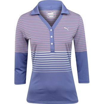 Puma 3/4 Shirt Polo Long Sleeve Apparel