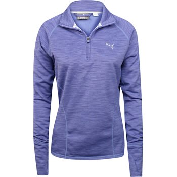 Puma 1/4 Zip Heather Popover Outerwear Pullover Apparel