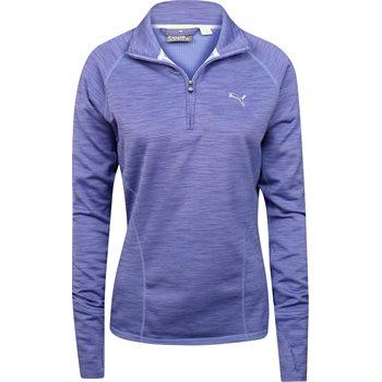 Puma 1/4 Zip Heather Popover Outerwear Pullover Apparel