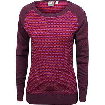 Puma Color Block Sweater Crew Apparel
