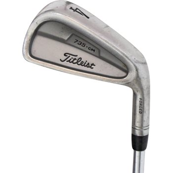 Titleist 735.CM Stainless Iron Individual Preowned Golf Club
