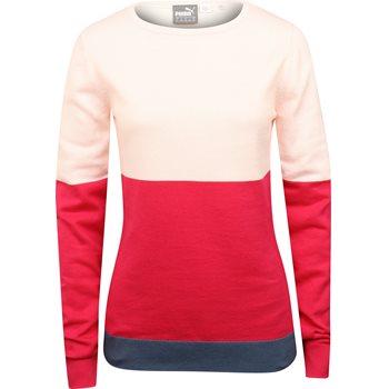 Puma Colorblock Sweater Crew Apparel