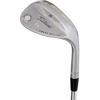"Titleist Vokey SM4 Tour Chrome Custom ""TJ"" Wedge Preowned Golf Club"