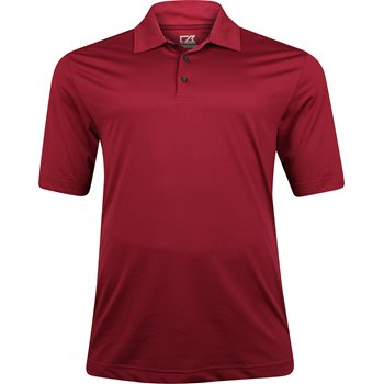 Cutter & Buck Big & Tall DryTec Medina Tonal Stripe  Shirt Polo Short Sleeve Apparel