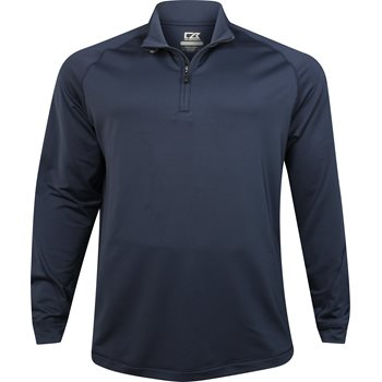 Cutter & Buck Big & Tall DryTec Montlake Half-Zip Fleece Outerwear Pullover Apparel