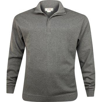 Cutter & Buck Big & Tall Journey Supima Flatback Half-Zip Outerwear Pullover Apparel