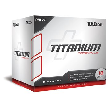 Wilson Titanium Core Plus 18-Pack Golf Ball Balls