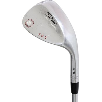 "Titleist Vokey TVD-M California Chrome C-C Custom ""FCC"" Wedge Preowned Golf Club"