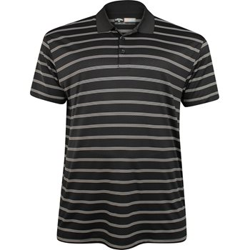 Callaway Big & Tall Opti-Dri Striped Stretch Shirt Polo Short Sleeve Apparel
