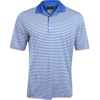 Greg Norman ML75 Bar Stripe Shirt Polo Short Sleeve Apparel