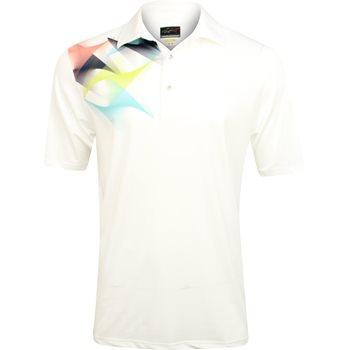 Greg Norman St. Barth Sublimation Print Shirt Polo Short Sleeve Apparel