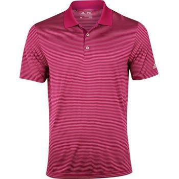 Adidas 2-Color Merch Stripe Shirt Polo Short Sleeve Apparel