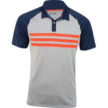 Adidas ClimaCool 3-Stripes Competition Shirt Polo Short Sleeve Apparel