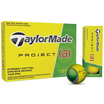 TaylorMade Project (a) Yellow Golf Ball Balls