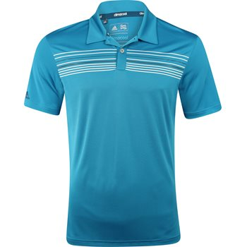 Adidas ClimaCool Chest Print Shirt Polo Short Sleeve Apparel