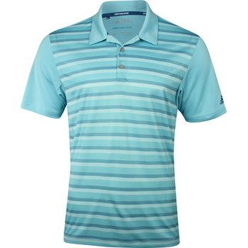 Adidas ClimaCool Competition Stripe Shirt Polo Short Sleeve Apparel