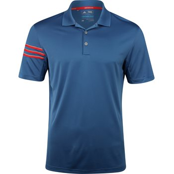 Adidas ClimaCool 3 Stripes Shirt Polo Short Sleeve Apparel