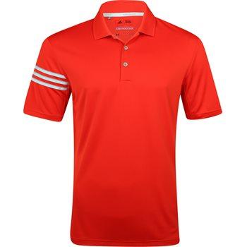 Adidas ClimaCool 3 Stripes Shirt Polo Short Sleeve Apparel