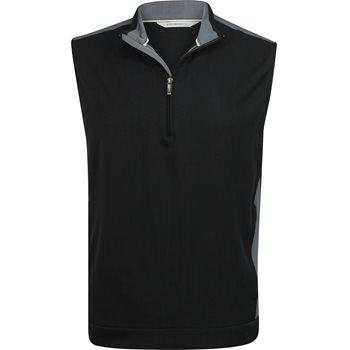 Ashworth Stretch Wind 1/2 Zip Outerwear Vest Apparel