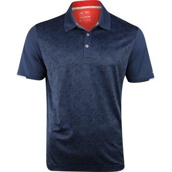 Adidas ClimaChill 2D Camo Print Shirt Polo Short Sleeve Apparel