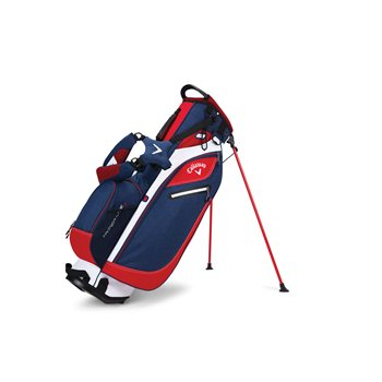 006467f99859 Callaway Hyper Lite 3 Stand Golf Bag Navy Red White Stand Closeout ...