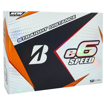 Bridgestone e6 Speed Golf Ball Balls
