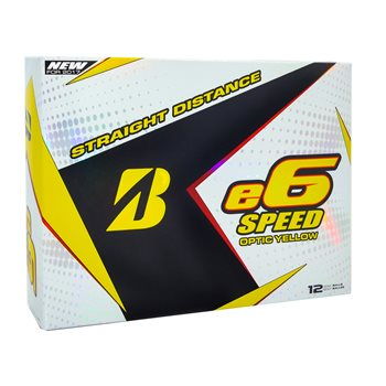 Bridgestone e6 Speed Yellow Golf Ball Balls