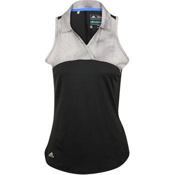 Adidas Merch Print Sleeveless Shirt Polo Short Sleeve Apparel
