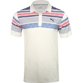 Puma Jersey Stripe Shirt Polo Short Sleeve Apparel