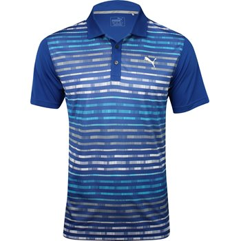 Puma Road Map Shirt Polo Short Sleeve Apparel