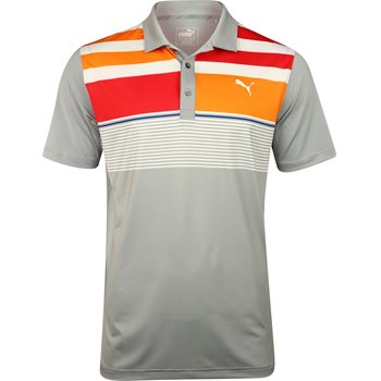 Puma Road Map ASYM Shirt Polo Short Sleeve Apparel