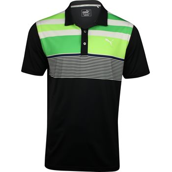 Puma Road Map ASYM Shirt Polo Short Sleeve Apparel