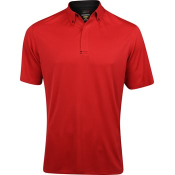 Greg Norman Micro Jacquard Shirt Polo Short Sleeve Apparel